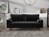 Picture of FAVERSHAM 3+2 SOFA RANGE * BLACK Velvet