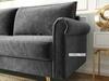 Picture of LIDO 3 SEAT SOFA *GREY VELVET