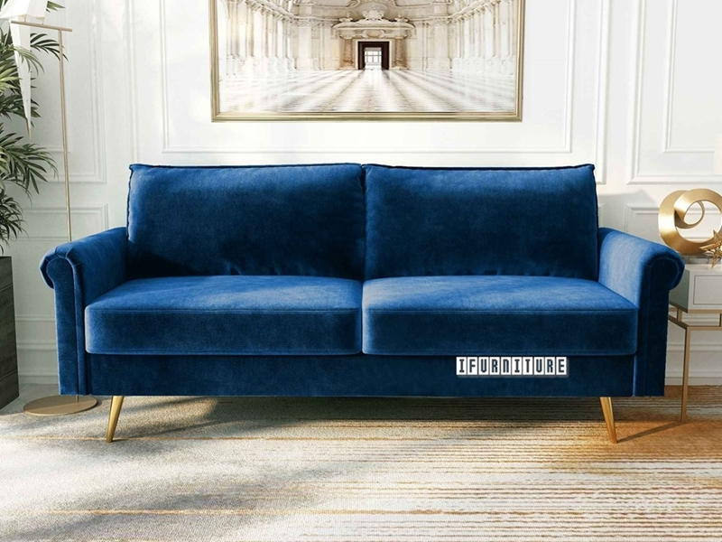 Picture of LIDO 3 SEAT SOFA *SPACE BLUE VELVET