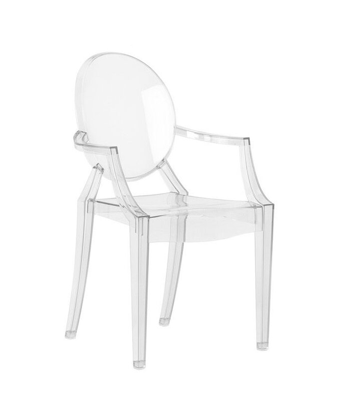 Picture of GHOST DINING CHAIR WITH ARM