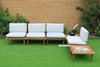 Picture of ARLO MODULAR OUTDOOR SOFA SET *ALUMINUM FRAME + SOLID WOOD