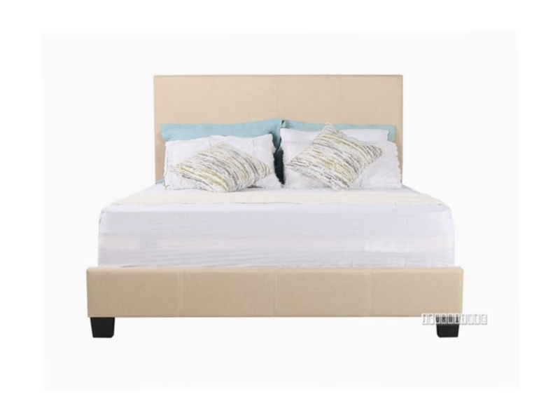 Picture of KNAP QUEEN BED *BEIGE