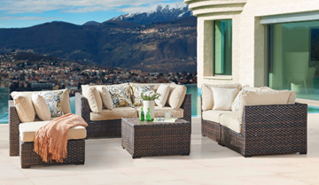 Picture of Spring Ridge 7PC outdoor sofa set* Aluminum Frame
