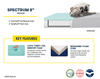 Picture of SERTA® SPECTRUM Memory form 8inch medium mattress