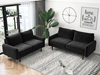 Picture of KAISON  2+3 SOFA RANGE *Black