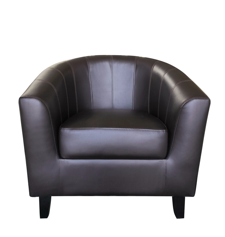 Picture of Charlie Barrel Chair *Brown