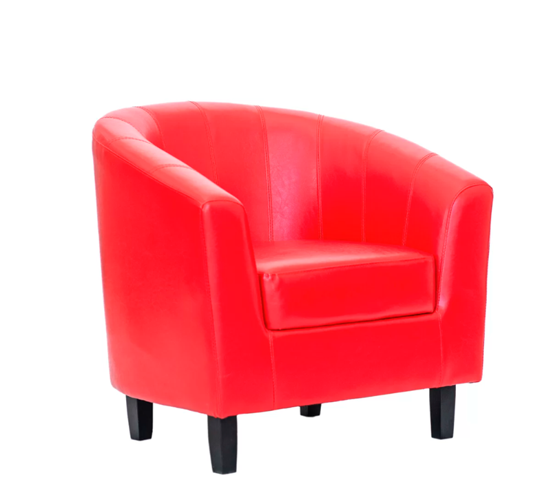 Picture of Charlie Barrel Chair *Red