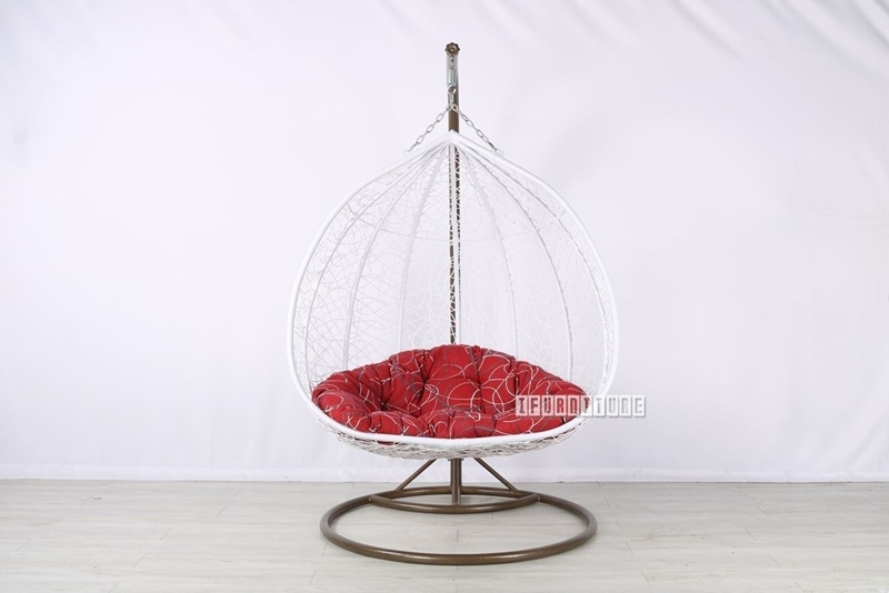 Picture of #34 DOUBLE SEAT RATTAN HANGING EGG CHAIR