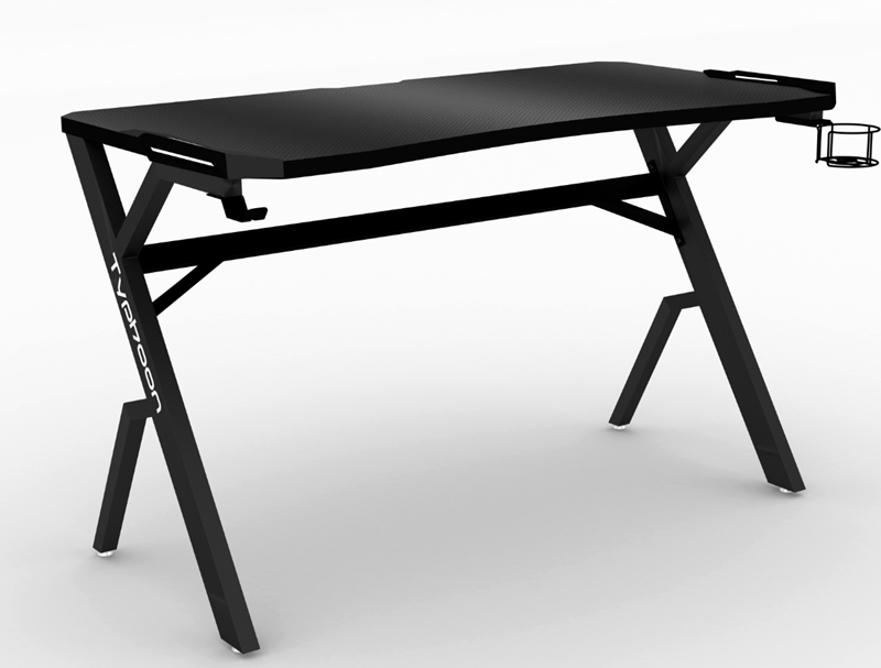 Picture of BLIZZARD 120X65 GAMING DESK WITH LED LIGHTS