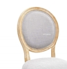 Picture of Elise French Upholstered Dining Chair* Beige