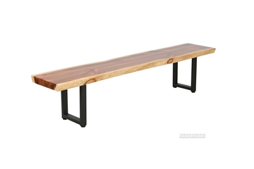 Picture of TASMAN SOLID NZ PINE BENCH 63''/71''/79''/87''/95'' *LIVE EDGE