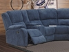 Picture of ALTO SECTIONAL RECLINING SOFA WITH CHAISE * CUP HOLDERS AND STORAGE