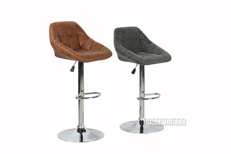 Picture of RAFFLES BAR CHAIR *2 COLORS BROWN/GREY
