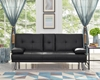 Picture of Clinton Sofa Bed with Console in Four colors--Black