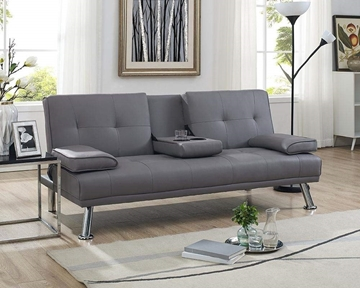 Picture of Clinton Sofa Bed with Console in Four colors--Grey