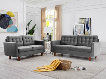 Picture of MILIOU  3+2 SOFA RANGE IN 9 COLORS