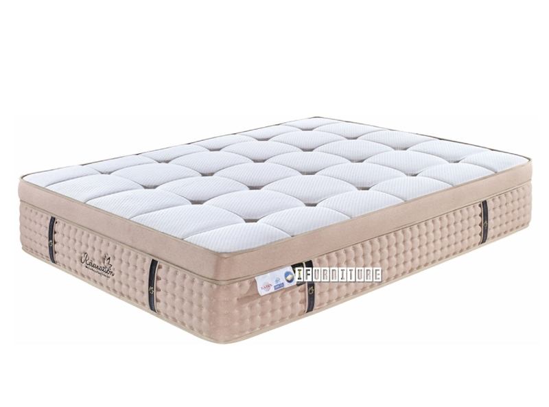 Picture of G9 MEMORY GEL + LATEX EURO TOP 5 ZONE POCKET SPRING MATTRESS IN QUEEN/KING SIZE
