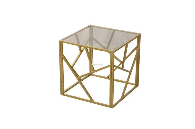 Picture of CLIO END TABLE *GOLD