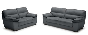 Picture of Henton Genuine Leather Sofa Range