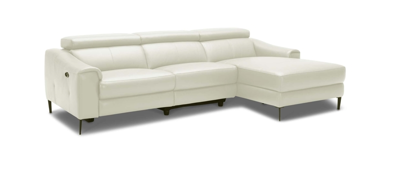 Picture of Edicott  Power Motion Sectional Sofa* 100% GENUINE LEATHER
