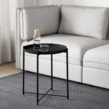 Picture of Sasaki End Table with Removable Tray *Black