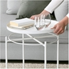Picture of Sasaki  End Table with Removable Tray *White
