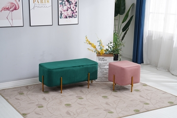 Picture of HAYSI FOOT STOOL * 2 SIZES IN 3 COLORS