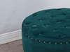 Picture of AQEEL ROUND OTTOMAN*GREEN