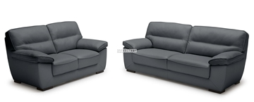 Picture of HENTON 3+2 SOFA RANGE *100% GENUINE LEATHER