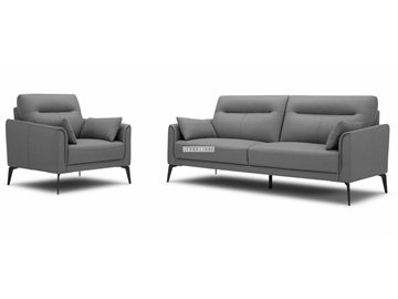 Picture of NAKALE 3+2+1 FABRIC SOFA RANGE WITH OTTOMAN *GREY