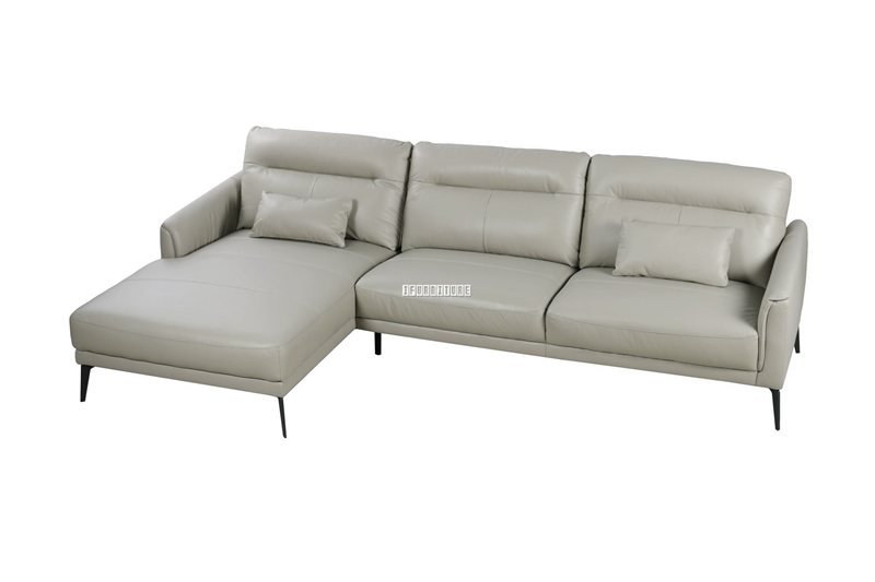 Picture of NAKALE SECTIONAL GENUINE LEATHER SOFA *BEIGE