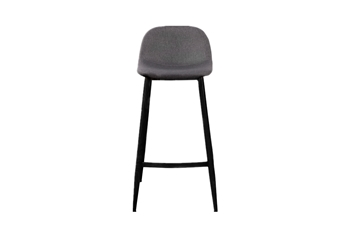 Picture of OSLO BAR CHAIR *DARK GREY