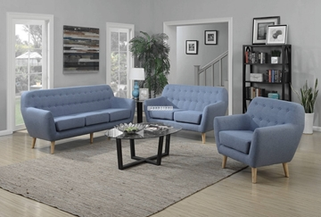 Picture of CILLA 1+2+3 SOFA RANGE *BLUE