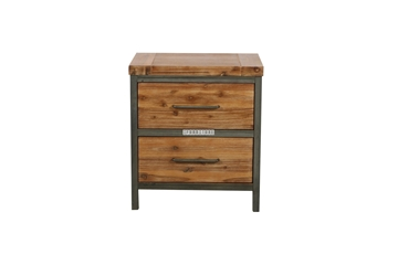 Picture of KANSAS 2DRW BEDSIDE TABLE *ACACIA WOOD