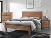 Picture of KANSAS BED IN QUEEN/KING SIZE *ACACIA WOOD