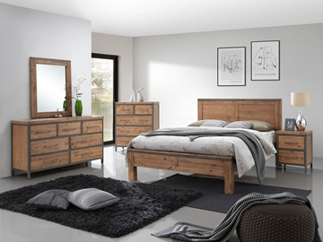Picture of KANSAS Bedroom Combo in Queen/king Size