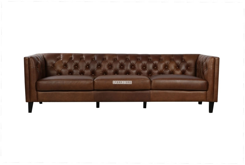 Picture of FAENZA 4 SEAT SOFA IN 100% TOP VINTAGE LEATHER