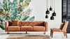Picture of SARDINIA 3.5 & 1 SEAT SOFA IN 100% TOP VINTAGE LEATHER