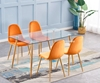 Picture of JAXSON GLASS RECTANGLULAR DINING TABLE