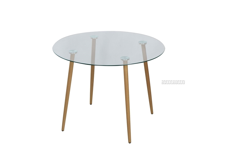 Picture of JAXSON GLASS ROUND DINING TABLE