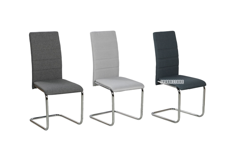 Picture of LAURENS DINING CHAIR *BLUE/LIGHT GREY/DARK GREY