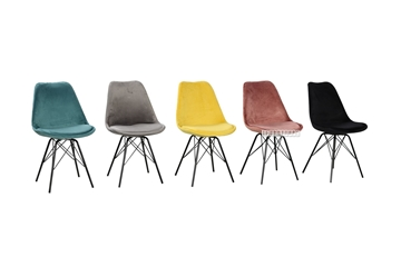 Picture of LUCA VEIVET DINING CHAIR * 6 COLORS AVAILABLE