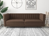 Picture of MISHTI VELVET 3 PCS SOFA RANGE IN BROWN
