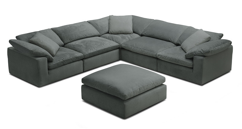 Picture of FEATHERSTONE MODULAR SOFA RANGE *FEATHER FILLED * ANTI WATER, ANTI OIL & ANTI DUST FABRIC
