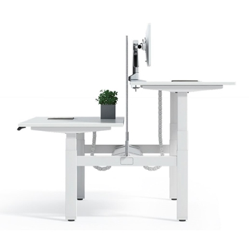 Picture of UP1 BACK-TO-BACK DUAL ADJUSTABLE DESK SYSTEM