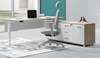 Picture of UP1 EXECUTIVE L SHAPE HEIGHT ADJUSTABLE DESK SYSTEM