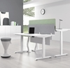 Picture of UP1 STRAIGHT ADJUSTABLE DESK FRAME *WHITE OR BLACK