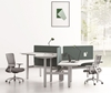 Picture of UP1 TRIANGLE POD HEIGHT ADJUSTABLE DESKS SYSTEM