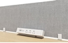 Picture of UP1 POWER & NET SOKET BOARD for UP1 Height Adjustable Standing Desk System