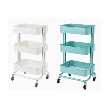 Picture of Nick 3-Tier Rolling Cart  IN 2 COLORS